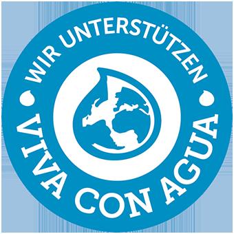 Wir unterstützen Viva con Agua